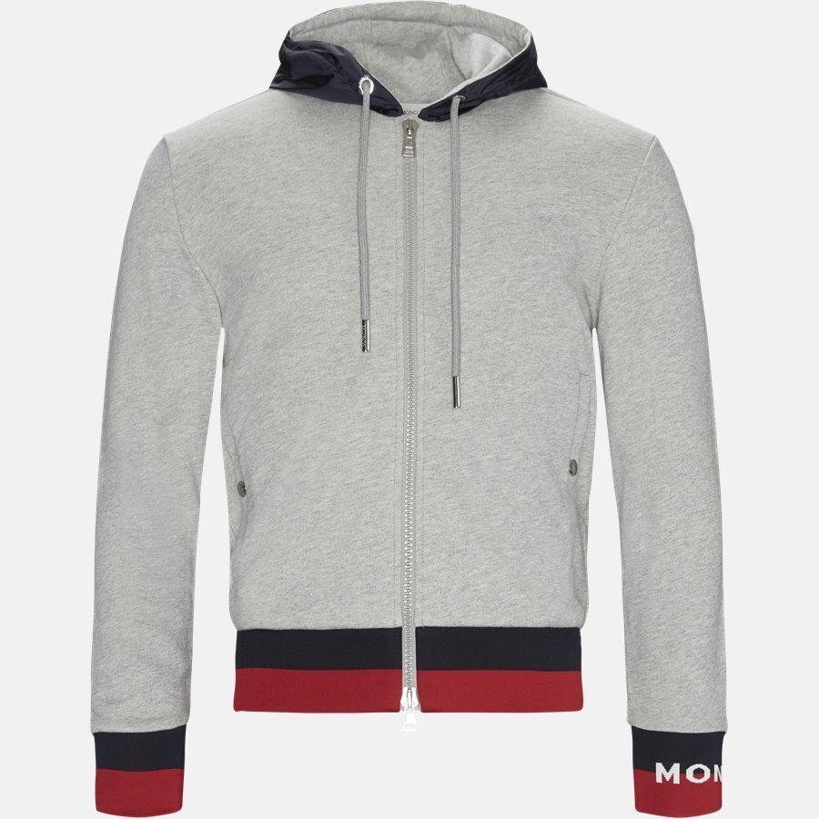 84248-00-V8020 - Sweatshirt  - Sweatshirts - Regular fit - GRÅ - 1
