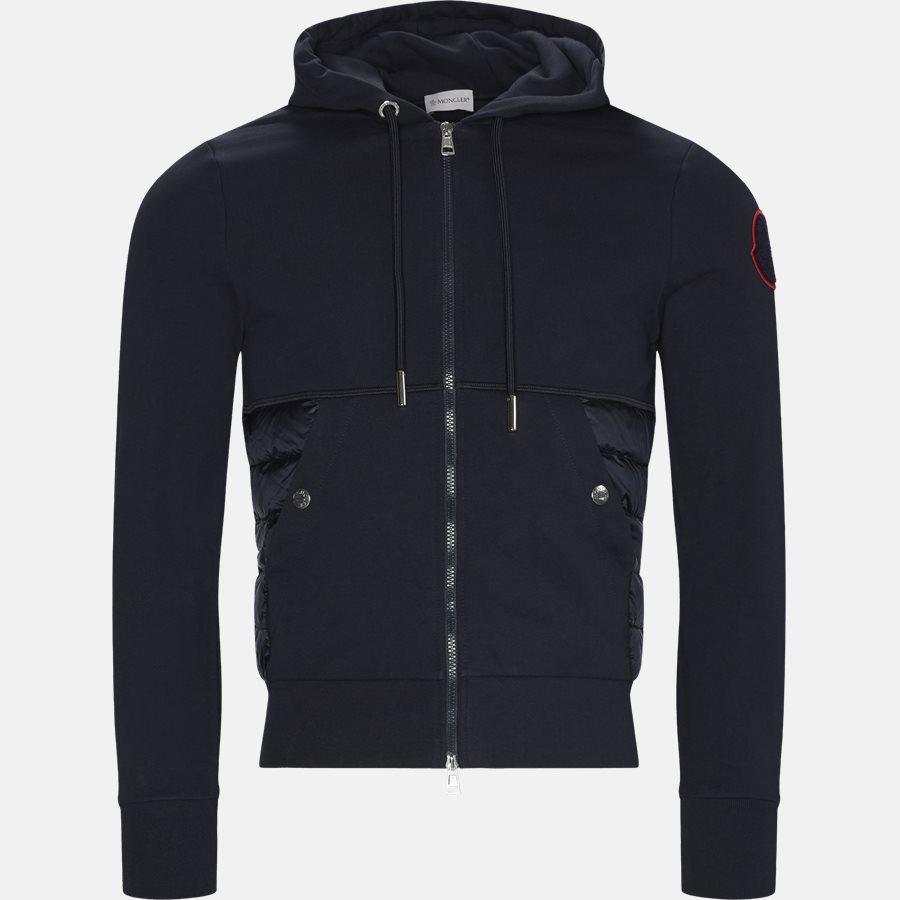 84242-00-V8006 - Sweatshirts - Regular fit - NAVY - 1
