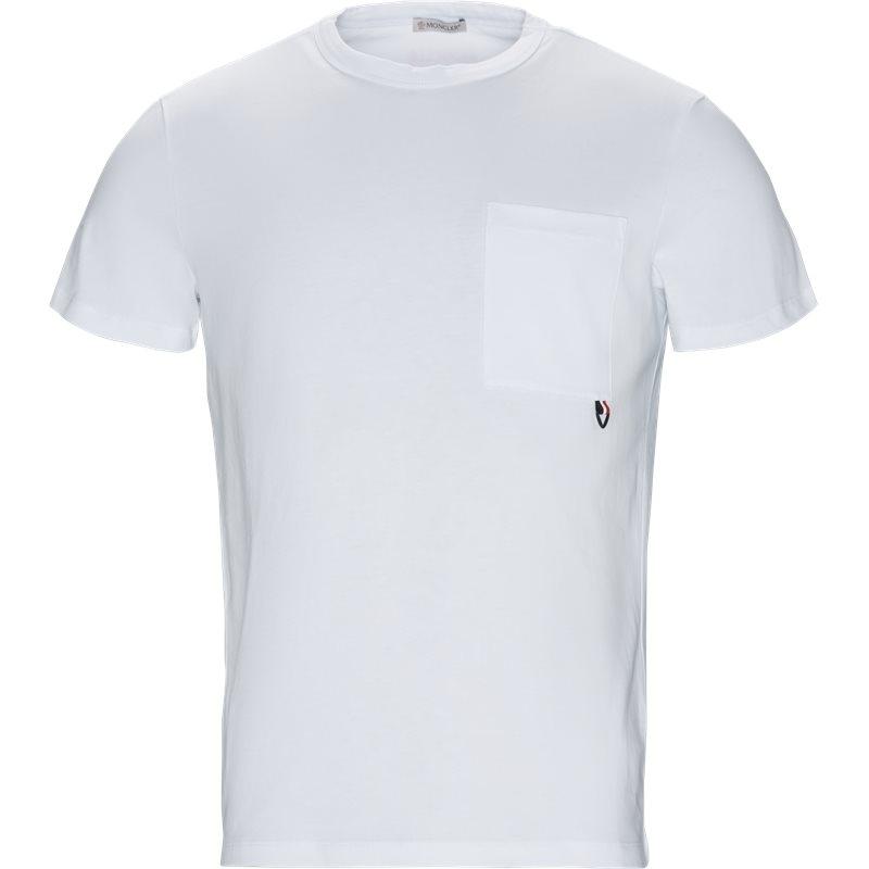 Billede af Moncler T-shirt Hvid
