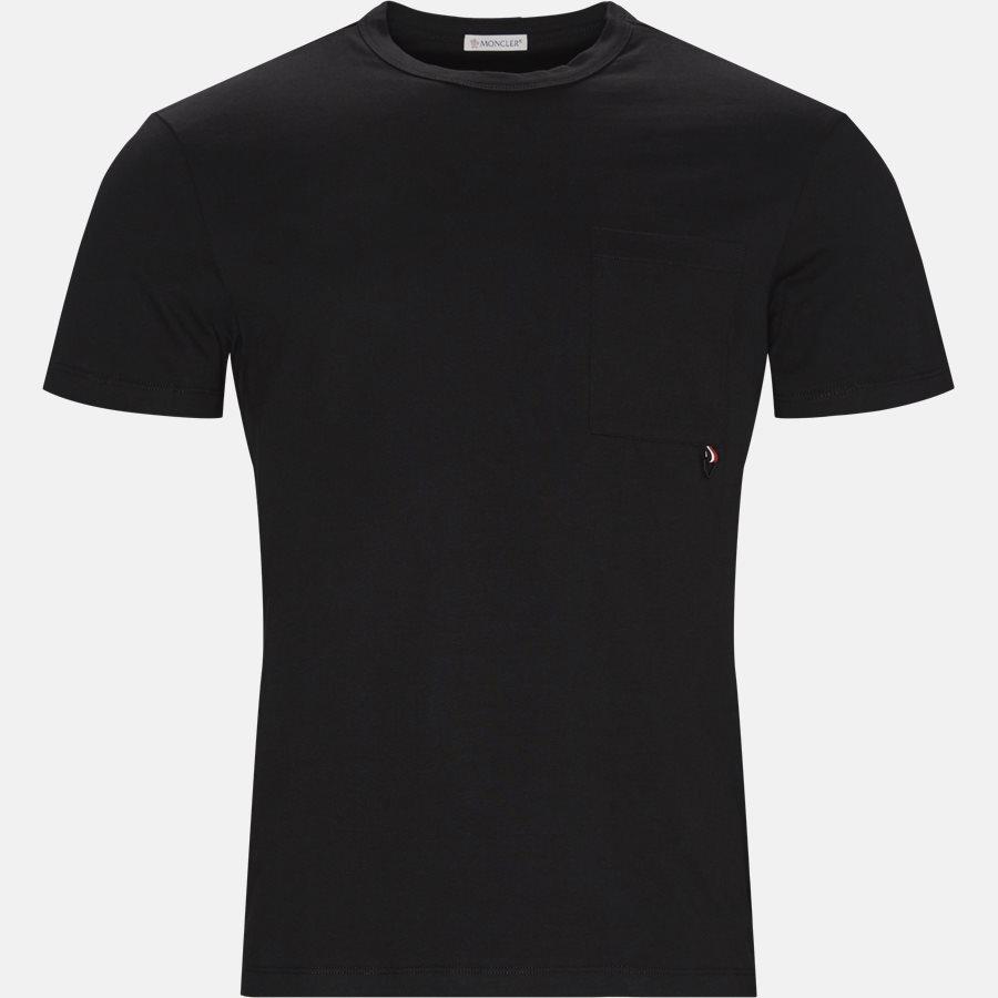 80402-50-8390T - T-shirt  - T-shirts - Regular fit - SORT - 1