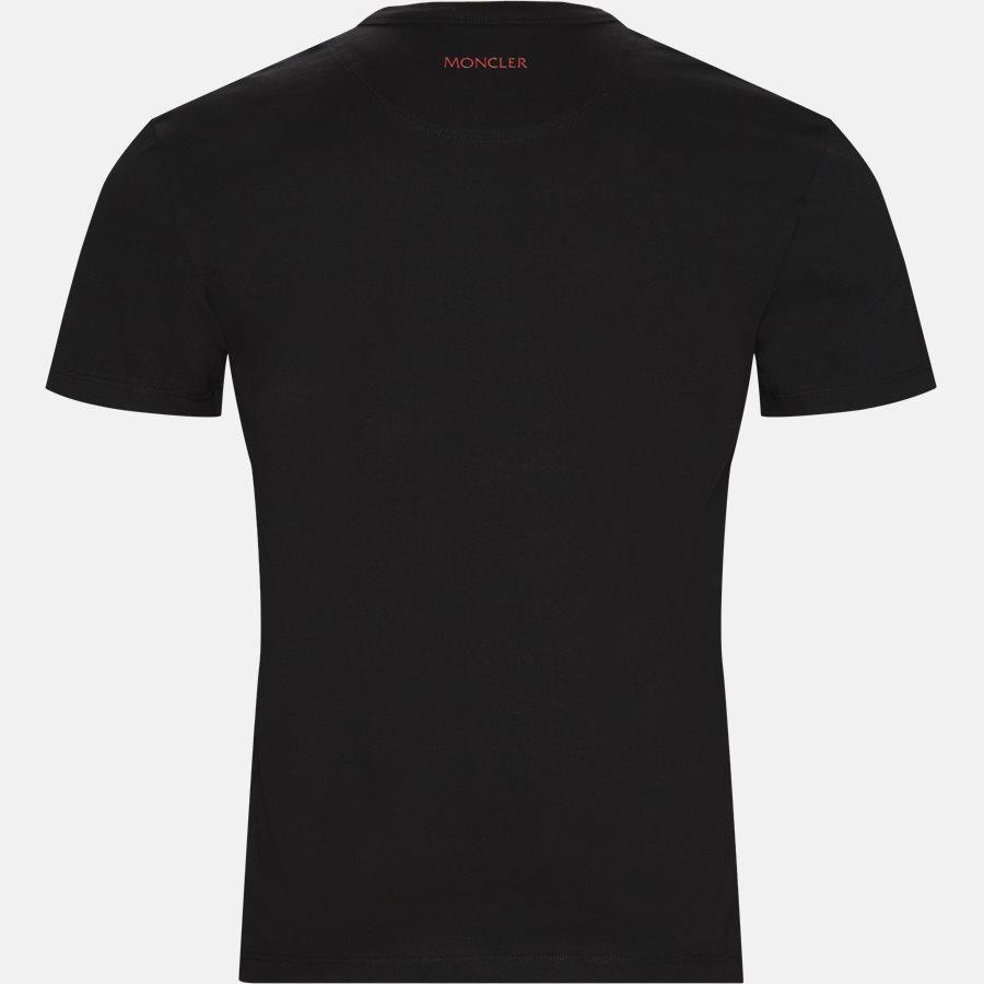 80402-50-8390T - T-shirt  - T-shirts - Regular fit - SORT - 2