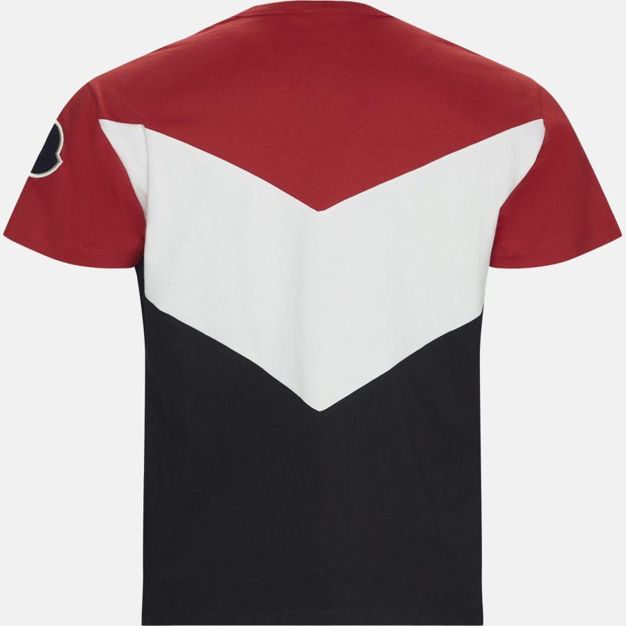 80010-00-839OT - T-shirts - Regular fit - NAVY/RØD - 2