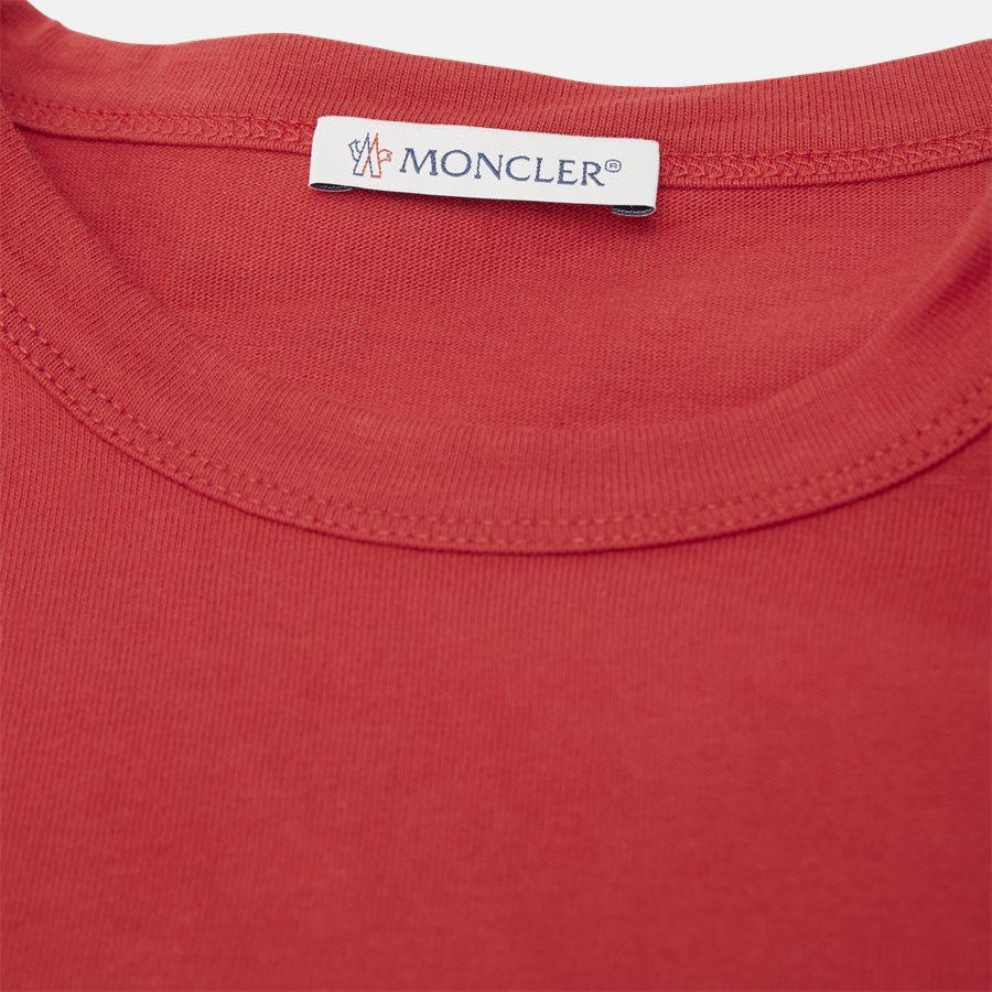 80010-00-839OT - T-shirts - Regular fit - NAVY/RØD - 3
