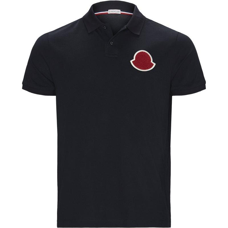 Billede af Moncler Regular fit 83220-0084556 T-shirts Navy