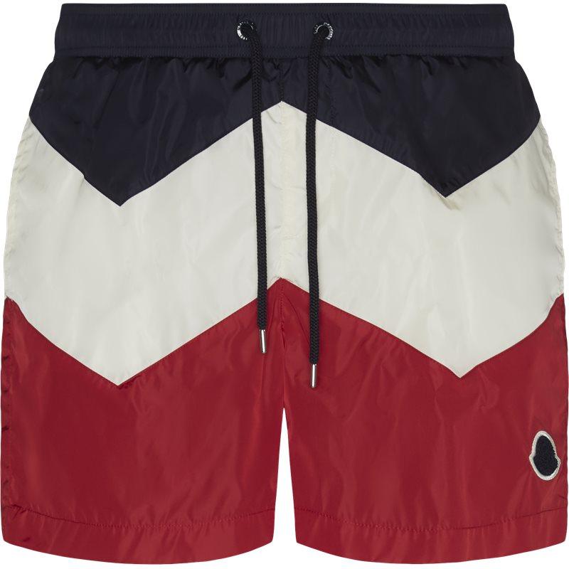 Billede af Moncler Regular fit 00799-05-53226 Shorts Navy/rød