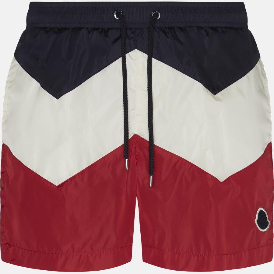 00799-05-53226 - Shorts - Regular fit - NAVY/RØD - 1