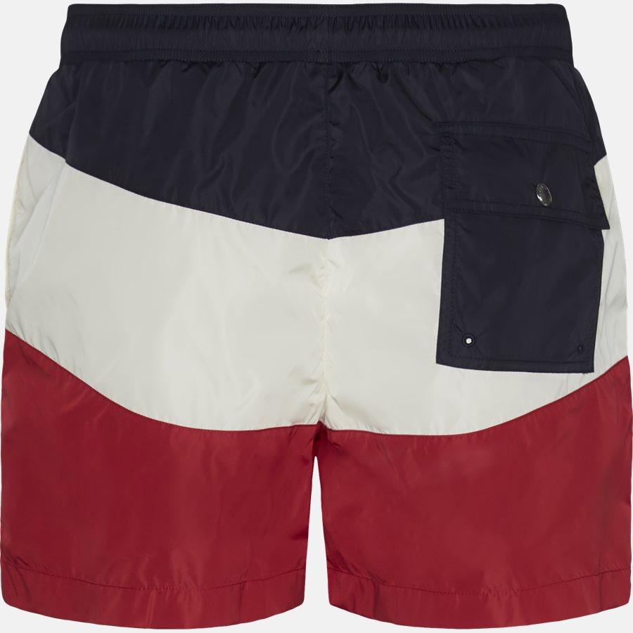 00799-05-53226 - Shorts - Regular fit - NAVY/RØD - 2