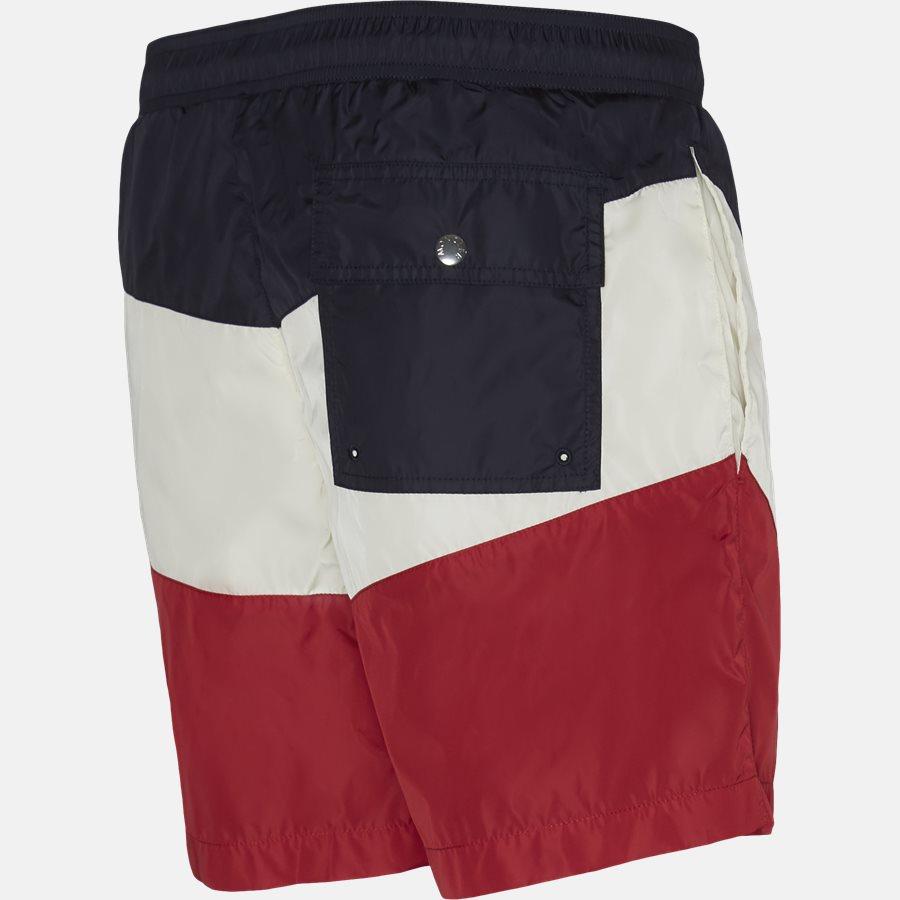 00799-05-53226 - Shorts - Regular fit - NAVY/RØD - 3
