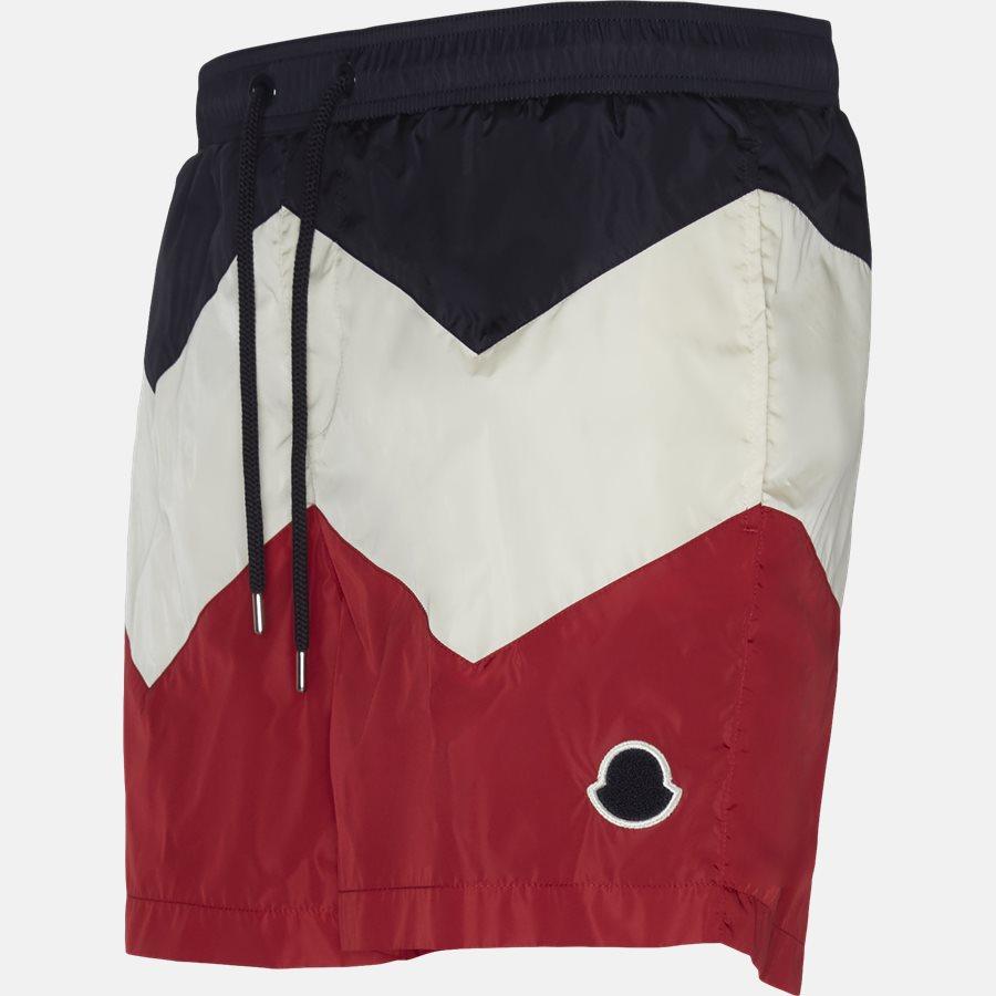 00799-05-53226 - Shorts - Regular fit - NAVY/RØD - 4