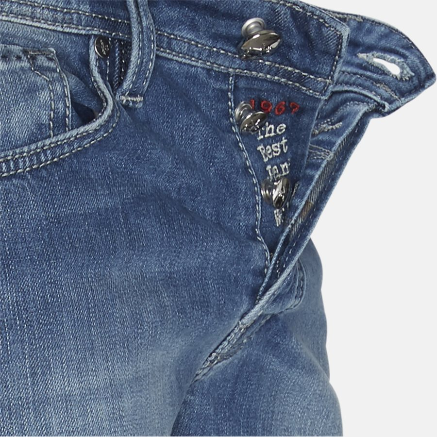 1980 D214S  - Jeans - Slim - DENIM - 4
