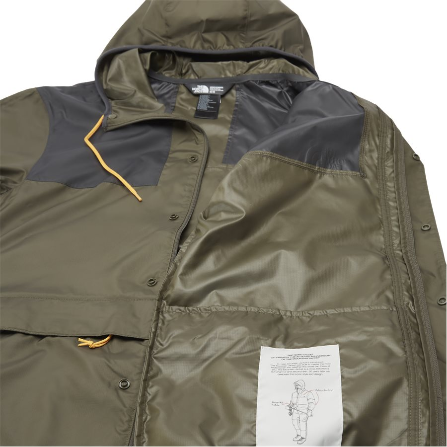 1985 MOUNTAIN JACKET, - 1985 Mountain Jacket - Jakker - Regular - ARMY - 11