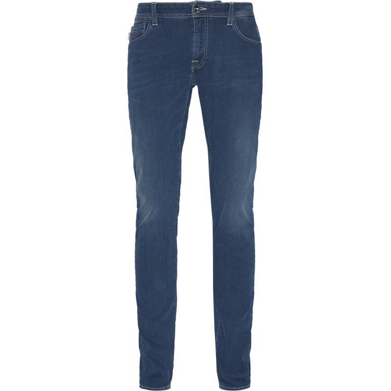sartoria tramarossa – Sartoria tramarossa slim d408 leonardo slim 24/7 jeans denim på axel.dk