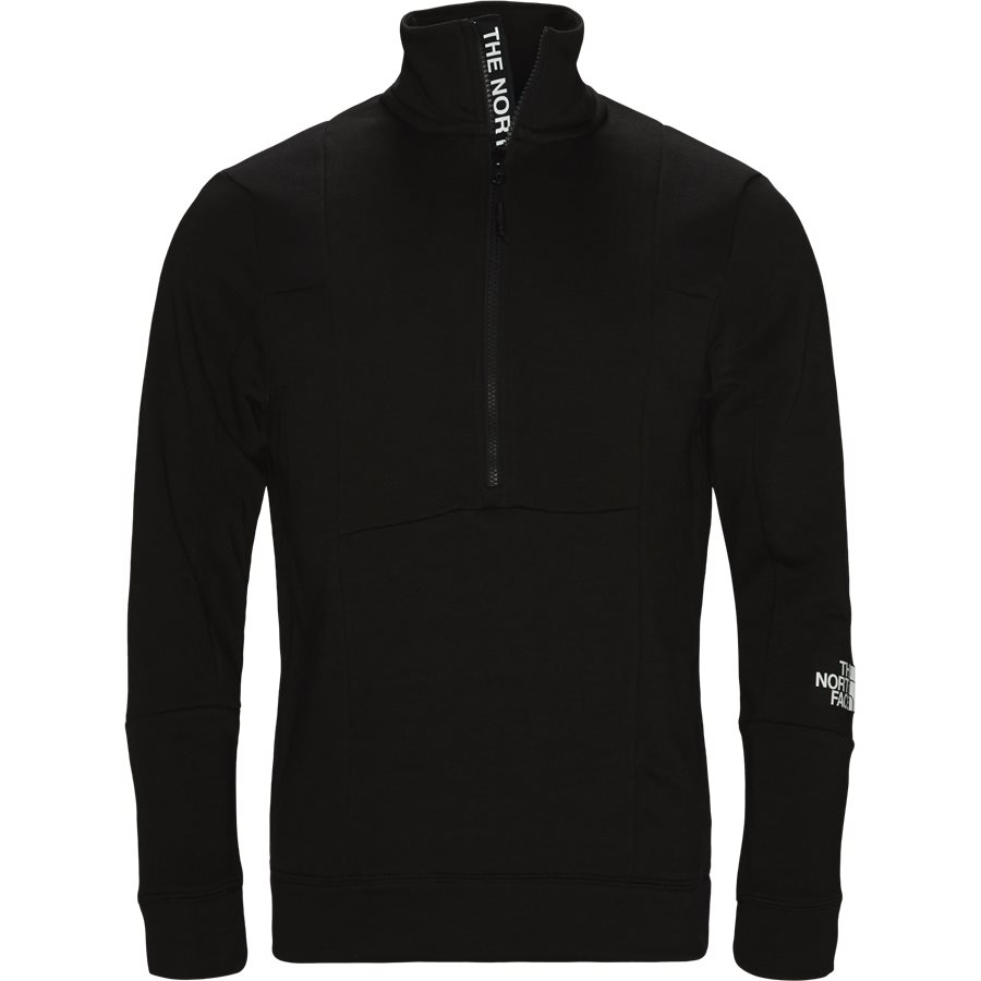 LIGHT 1/4 ZIP - Light 1/4 Zip - Sweatshirts - Regular fit - SORT - 1