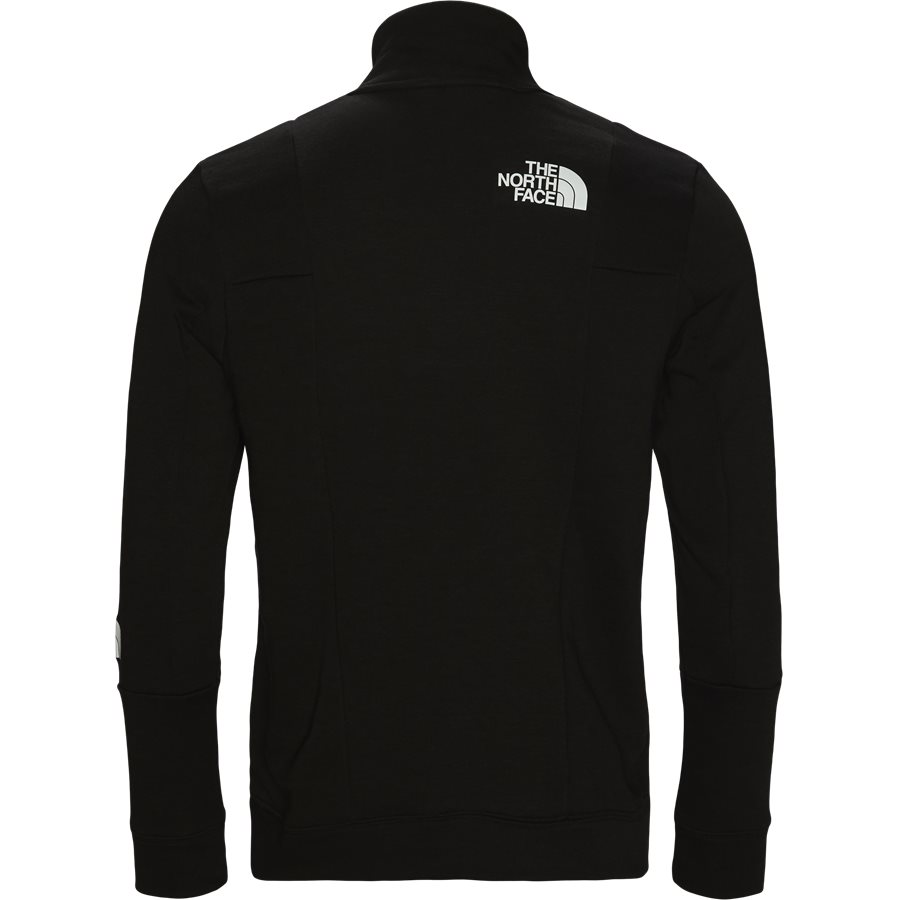 LIGHT 1/4 ZIP - Light 1/4 Zip - Sweatshirts - Regular fit - SORT - 2
