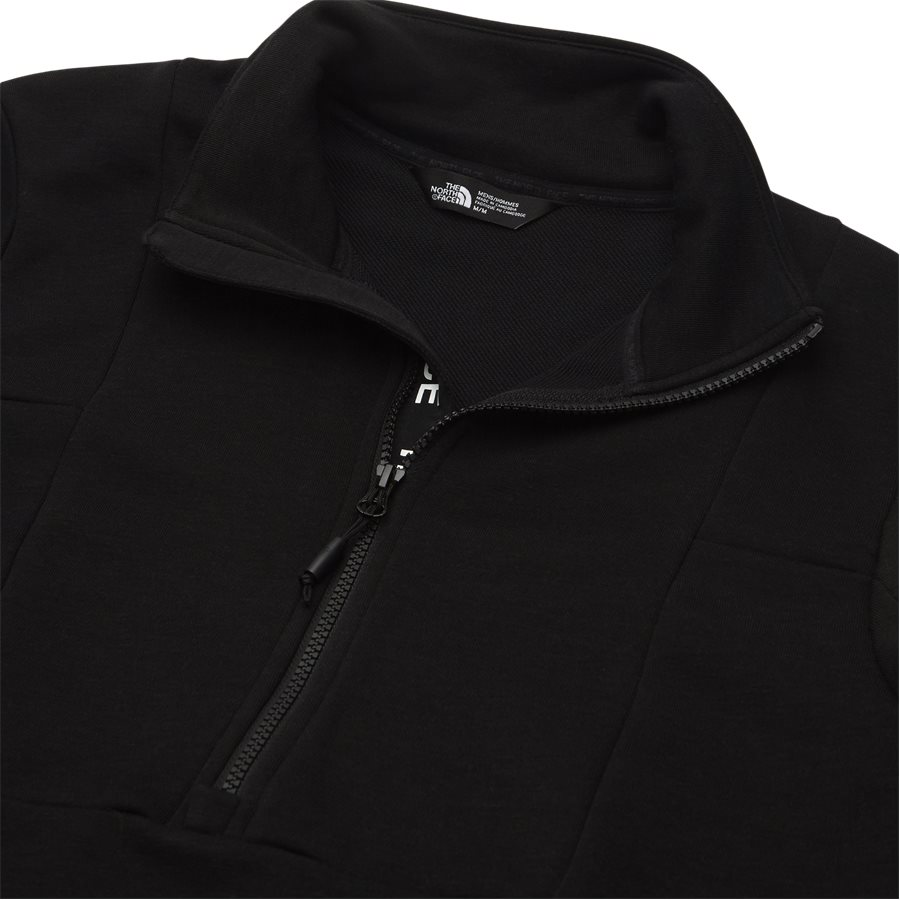 LIGHT 1/4 ZIP - Light 1/4 Zip - Sweatshirts - Regular fit - SORT - 3