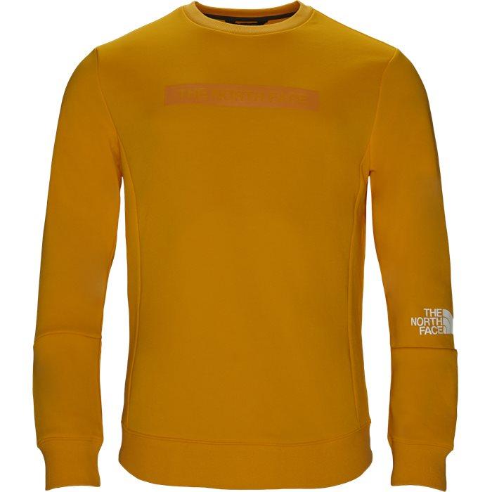 Light Crew - Sweatshirts - Regular fit - Gul