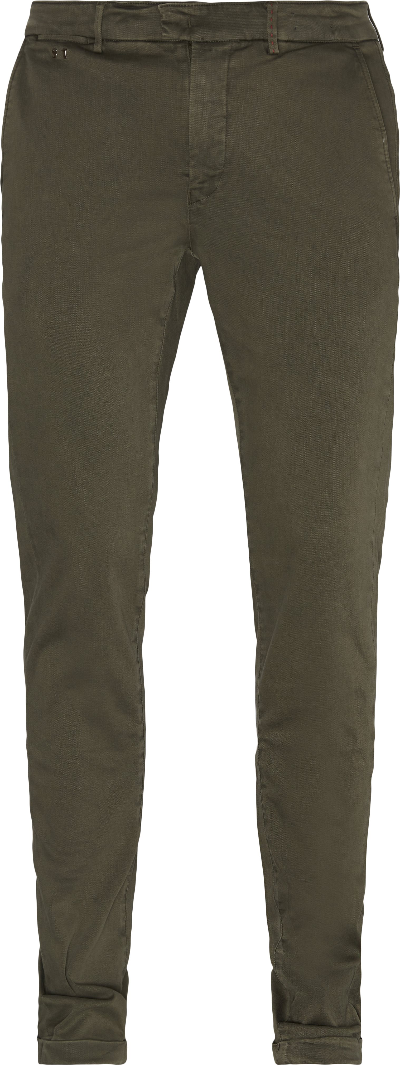 Trousers - Slim fit - Army
