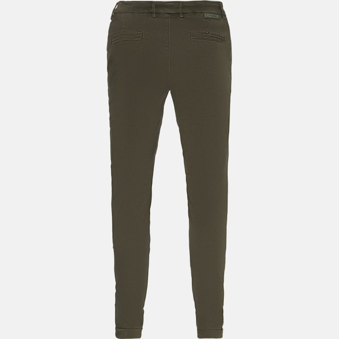 Trousers - Slim - Army