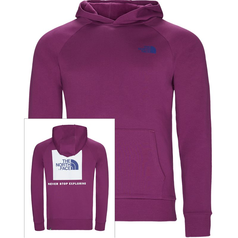 Image of   The North Face Red Box Hoodie Sweatshirts Lilla