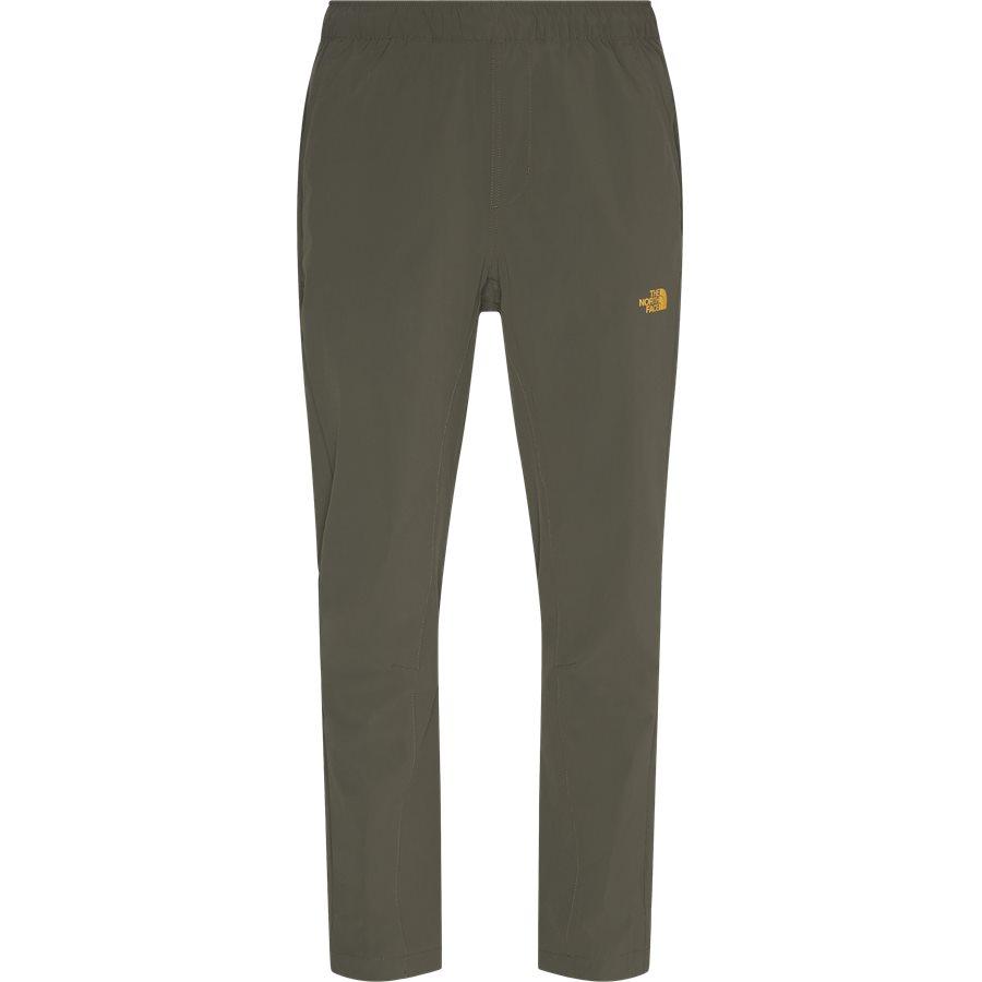 WOVEN PANT - Woven Pant - Bukser - Regular - ARMY - 1