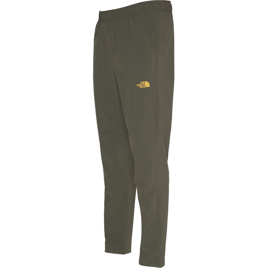 WOVEN PANT - Woven Pant - Bukser - Regular - ARMY - 4