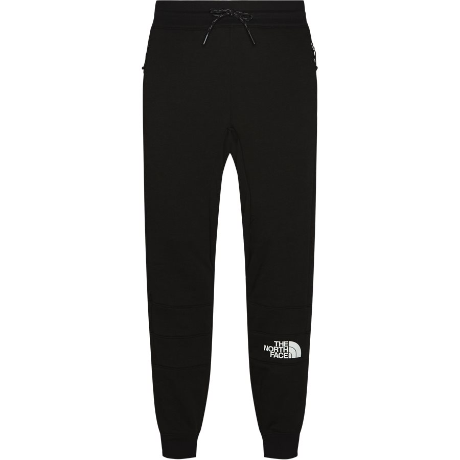 LIGHT PANT - Light Sweatpant  - Bukser - Tapered fit - SORT - 1