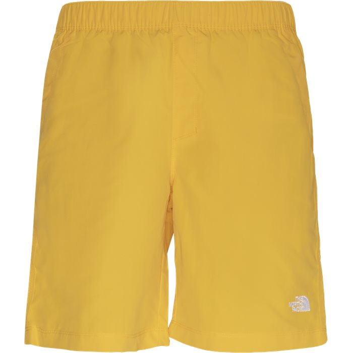 Shorts - Regular fit - Gul