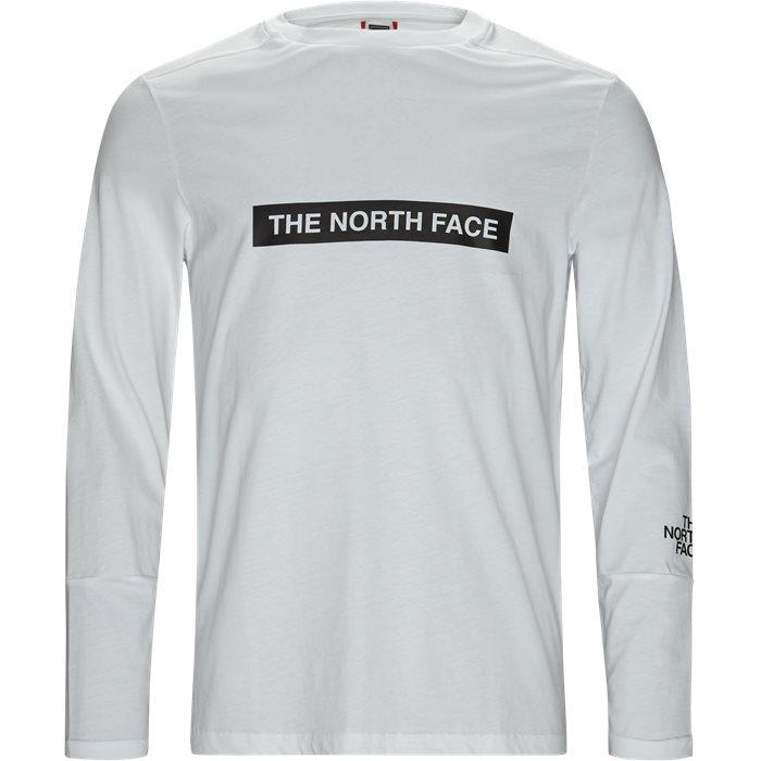 Light LS - T-shirts - Regular fit - Hvid