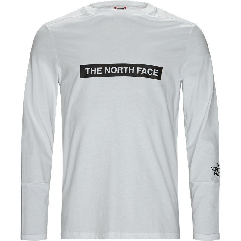 the north face The north face light ls hvid på quint.dk