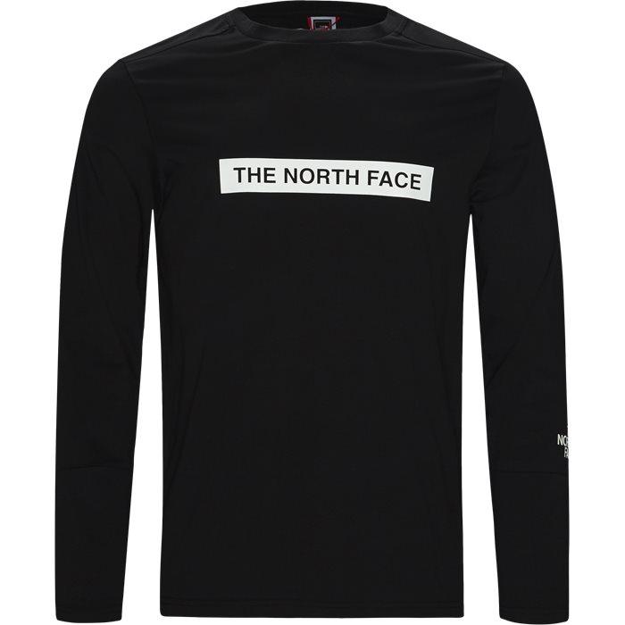 T-shirts - Regular fit - Svart