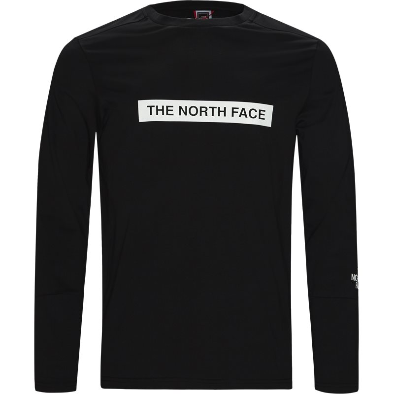 the north face The north face light ls sort fra quint.dk