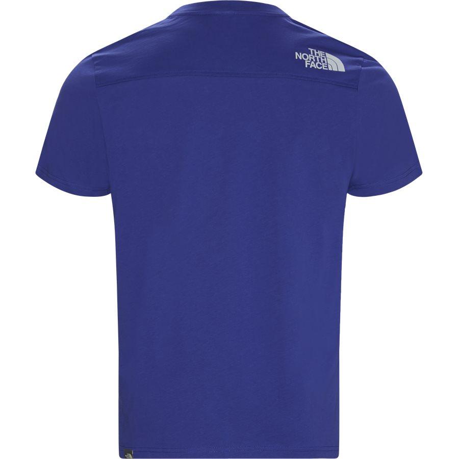 LIGHT SS - Light SS T-shirt - T-shirts - Regular - BLÅ - 2