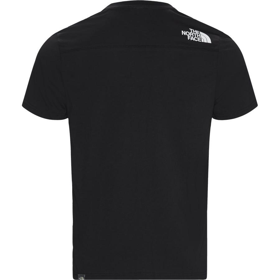 LIGHT SS - Light SS T-shirt - T-shirts - Regular - SORT - 2