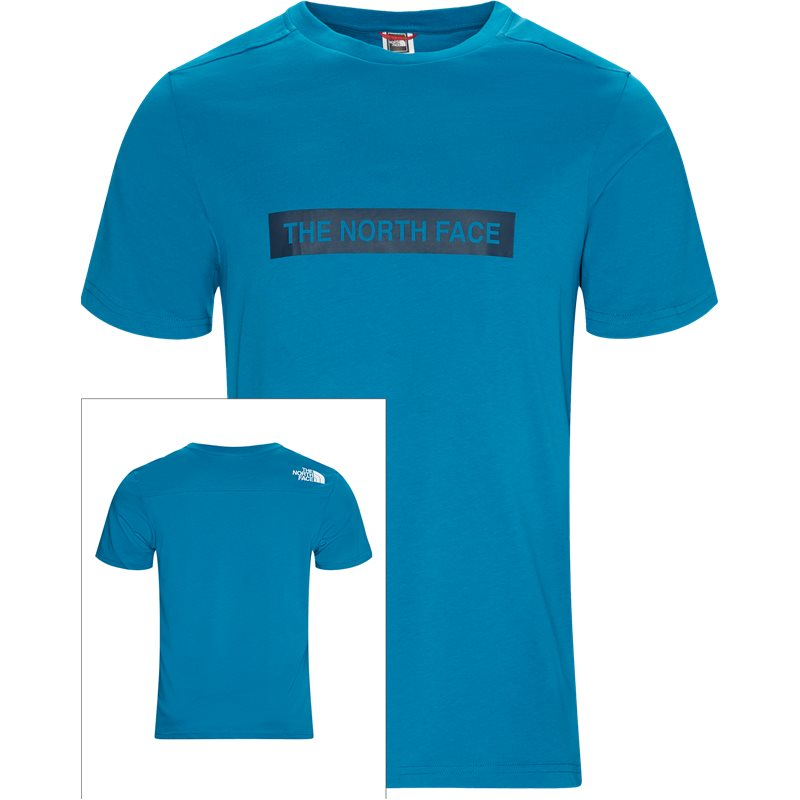 the north face The north face light ss t-shirt teal fra quint.dk