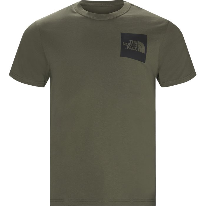 Fine T-shirt - T-shirts - Regular - Army