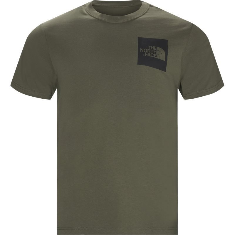 The north face fine t-shirt army fra the north face på quint.dk