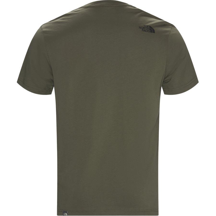 FINE TEE SS - Fine T-shirt - T-shirts - Regular - ARMY - 2