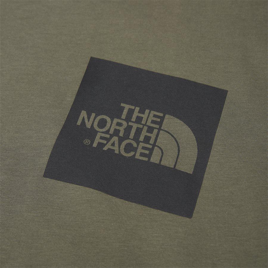 FINE TEE SS - Fine T-shirt - T-shirts - Regular - ARMY - 3