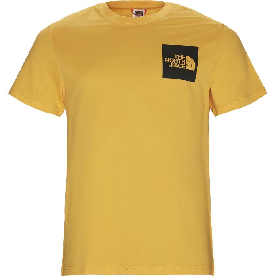 FINE TEE SS - Fine T-shirt - T-shirts - Regular - GUL - 1