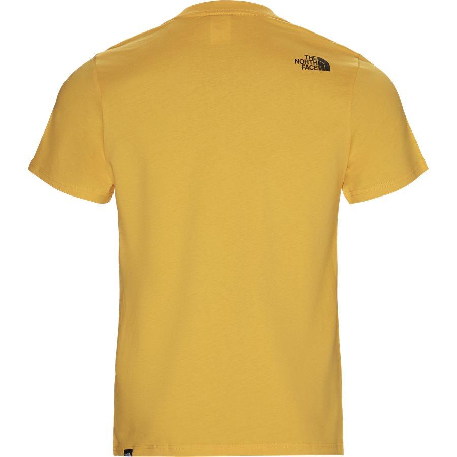 FINE TEE SS - Fine T-shirt - T-shirts - Regular - GUL - 2