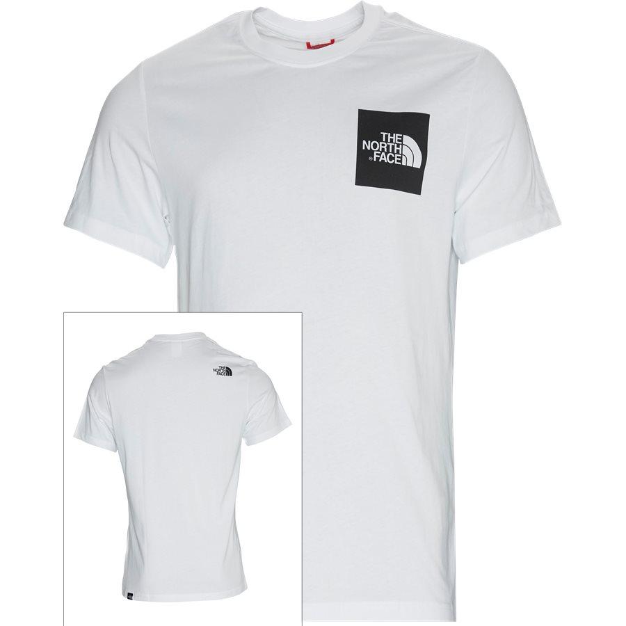 FINE TEE SS - Fine T-shirt - T-shirts - Regular - HVID - 1