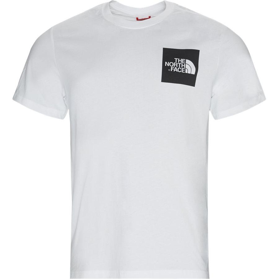 FINE TEE SS - Fine T-shirt - T-shirts - Regular - HVID - 2