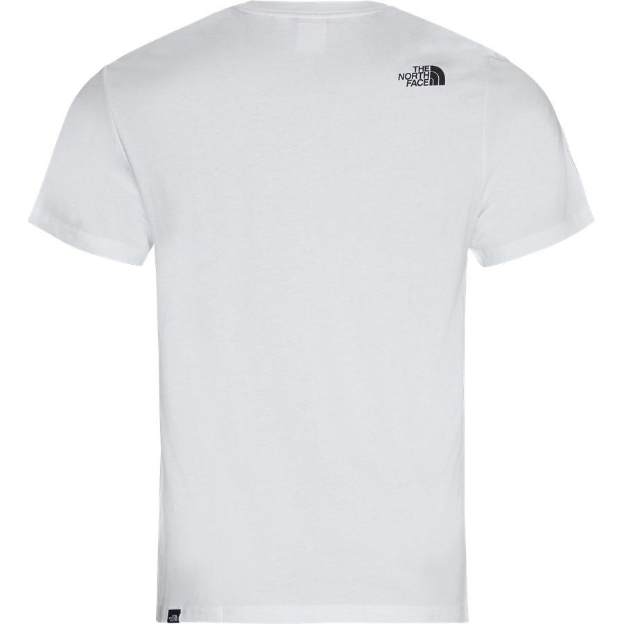 FINE TEE SS - Fine T-shirt - T-shirts - Regular - HVID - 3