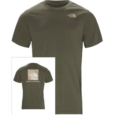 Red Box T-shirt Regular | Red Box T-shirt | Army