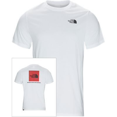 Red Box T-shirt Regular | Red Box T-shirt | Hvid