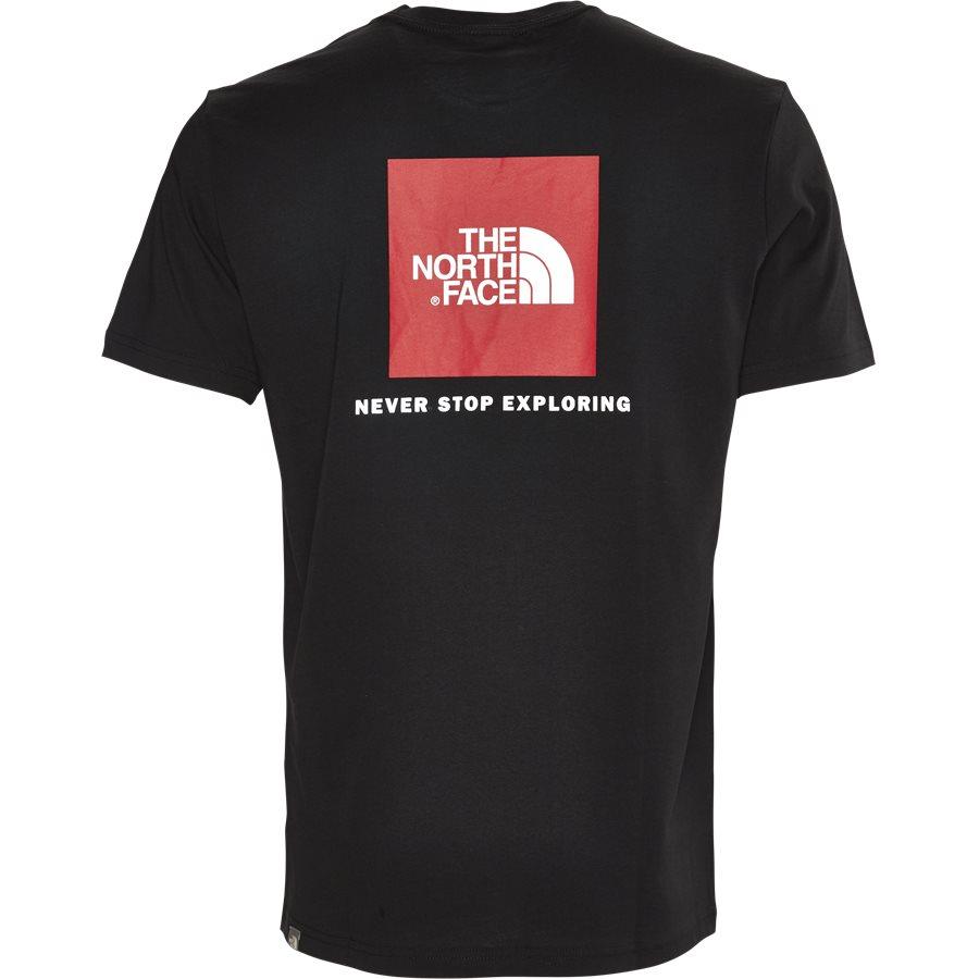 RED BOX TEE SS - Red Box T-shirt - T-shirts - Regular - SORT - 3