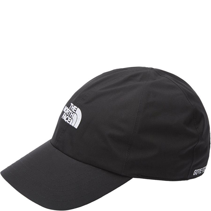 LOGO GORE CAP - Gore-Tex Kasket - Caps - SORT - 1