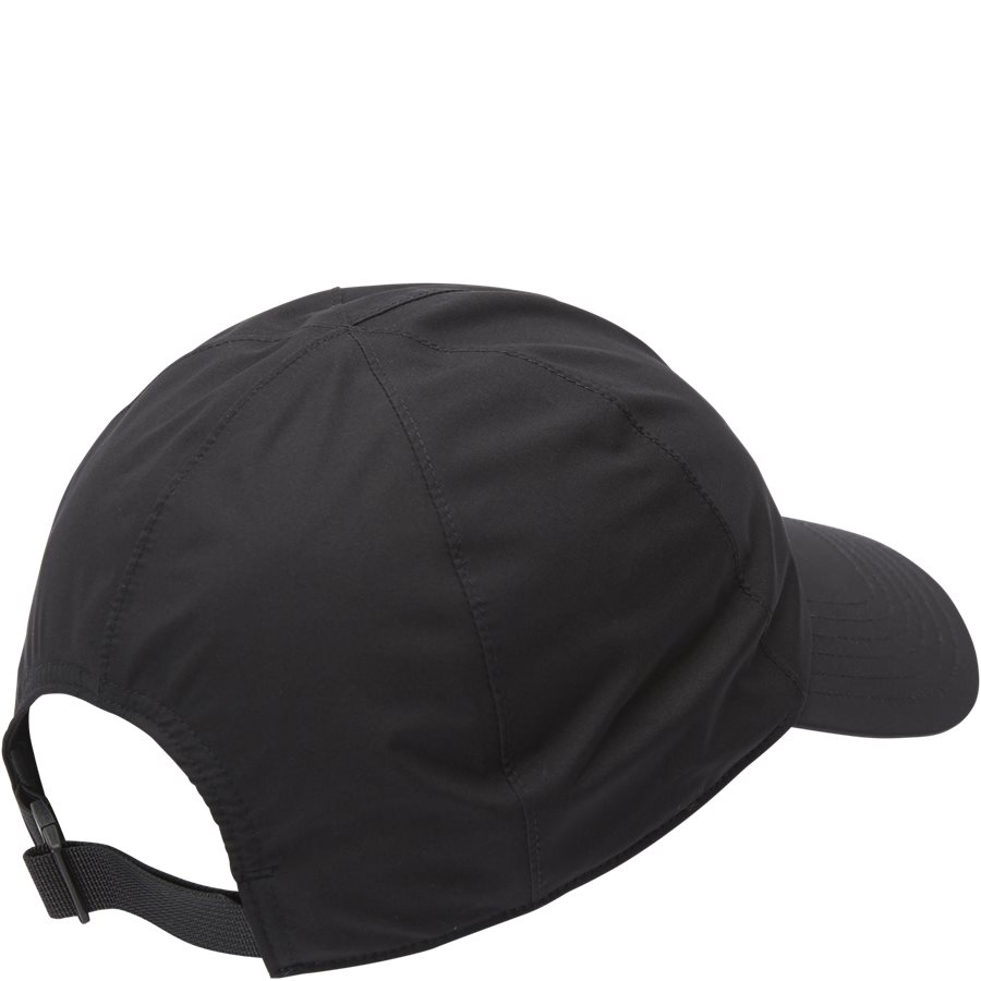 LOGO GORE CAP - Gore-Tex Kasket - Caps - SORT - 2