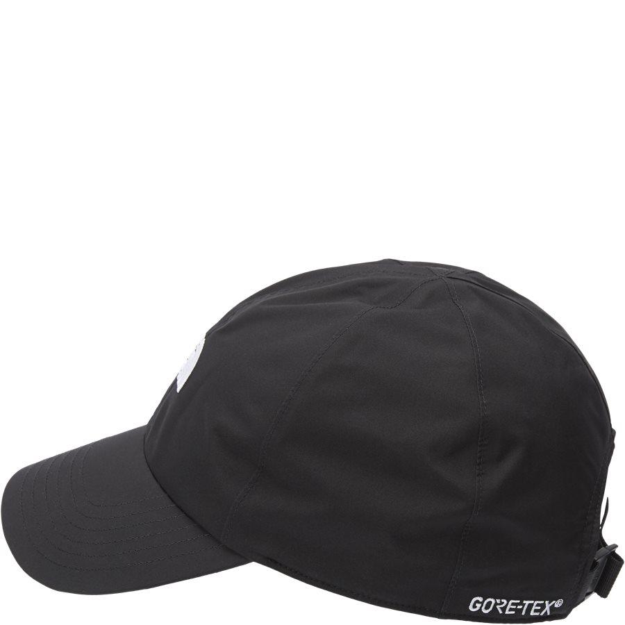 LOGO GORE CAP - Gore-Tex Kasket - Caps - SORT - 3