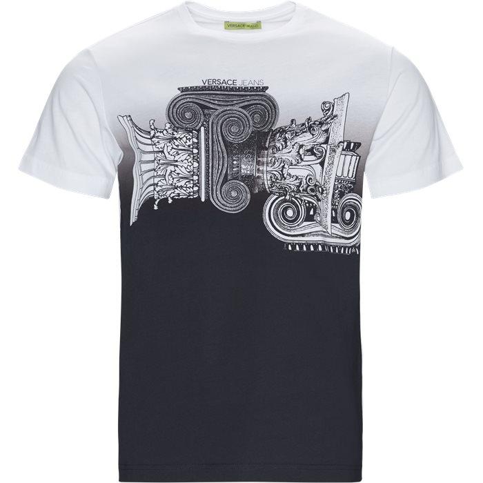 B3GTB72B - T-shirts - Regular fit - Hvid